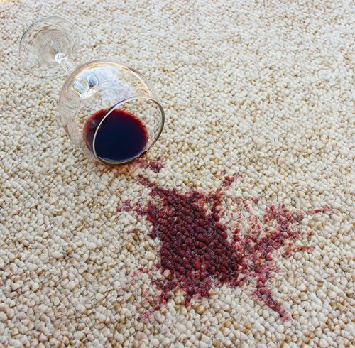 Complete spot and stain removal service