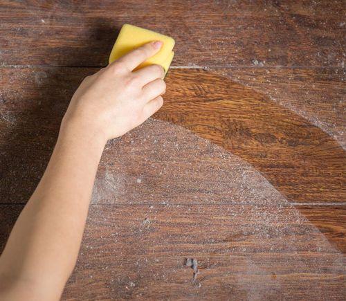 Dust-polish all reachable surfaces